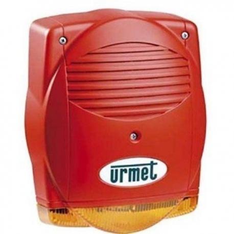 Urmet 1043/256 | Sirena Antincendio Autoalimentata per esterno con lampeggiante