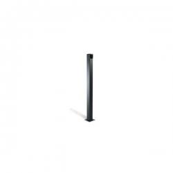 Came 001CSSN Colonnina in alluminio anodizzato nero (Altezza 1 mt.)