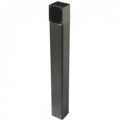 Came 001DOC-LN Colonnina in alluminio anodizzato naturale nero